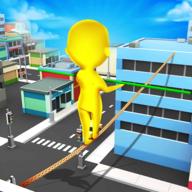 人类绳索3D