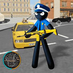 火柴人警察英雄畅玩版