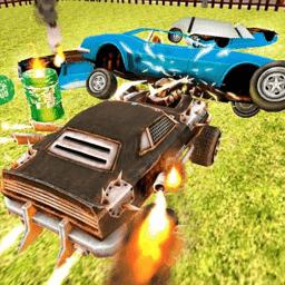 车祸模拟现场