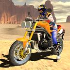 快速摩托车司机
